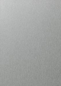 ÖkoStyle és AluStyle MetalEffect alumínium hatású műanyag nyílászáró színek a Hofstädternél – Metbrush platina