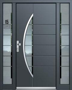 Exclusive AK-418 Bejárati ajtó - A Jövő otthona - Hofstädter Nyílászárók