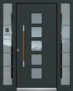 Exclusive AK-422 Bejárati ajtó - A Jövő otthona - Hofstädter Nyílászárók