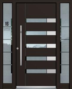 Exclusive AK-424 Bejárati ajtó - A Jövő otthona - Hofstädter Nyílászárók