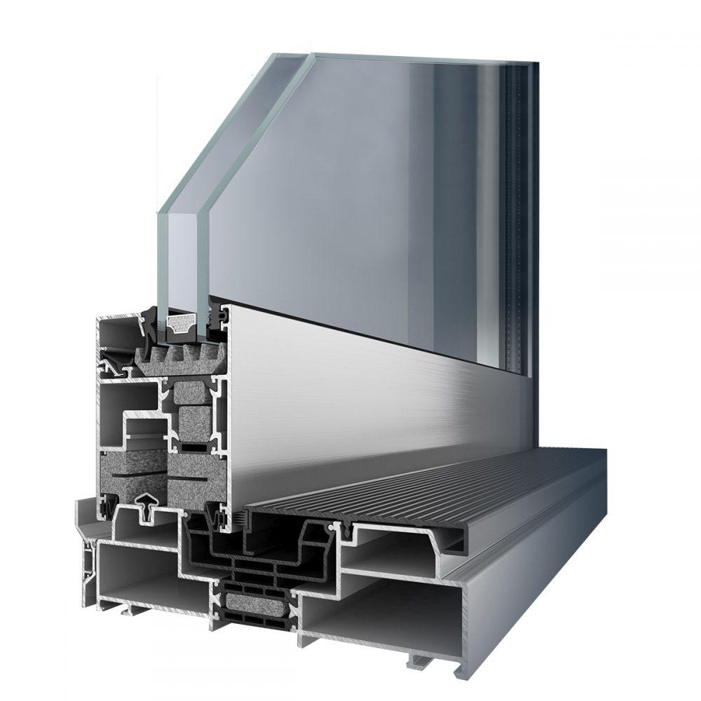 AluDesign AluSlide80 Prémium Alumínium Emelő-Toló Teraszajtó - A Jövő otthona - Hofstädter Nyílászárók