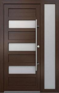 Elegance E-04 bevilágítóval Bejárati ajtó - A Jövő otthona - Hofstädter Nyílászárók