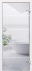 SunLight Üveg Beltéri ajtók SL-03 - A Jövő otthona - Hofstädter Nyílászárók