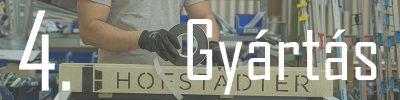 Hofstadter Nylászárók rendelés menete és gyakrak ismételt kérdések - Gyártás