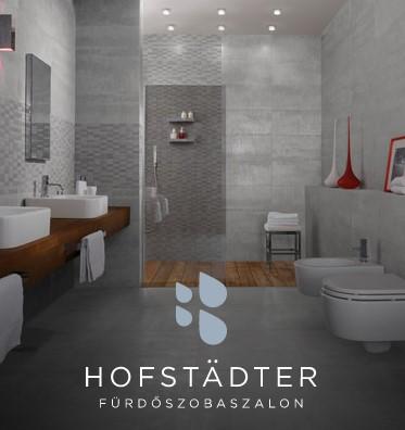 Hofstädter Fürdőszoba Centrum - az Otthonfelújítási támogatás szaniter és burkolat beszállítőja
