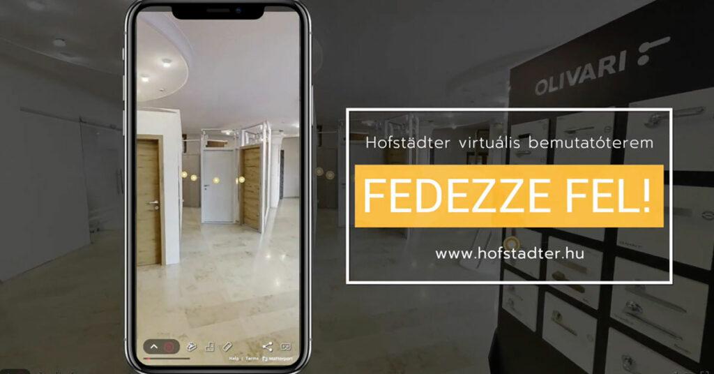 Hofstädter Nyílászárók Virtuális bemutatóterem