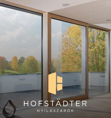 Hofstädter Építőanyag Centrum - az Otthonfelújítási támogatás új generációs nyílászáró beszállítőja
